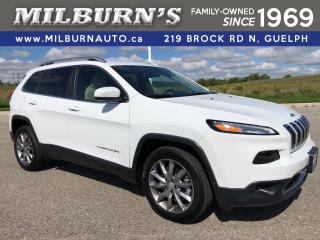 Used 2018 Jeep Cherokee Limited for sale in Guelph, ON