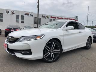 Used 2016 Honda Accord Coupe Touring - Navigation - Leather - Roof for sale in Mississauga, ON
