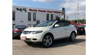 Used 2011 Nissan Murano Cross Cabriolet for sale in Mississauga, ON