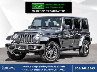 Used 2016 Jeep Wrangler SAHARA 4X4 | 75TH ANNIVERSARY PACKAGE for sale in Brampton, ON