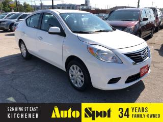 Used 2012 Nissan Versa 1.6 SV/LOW, LOW KMS/PRICED - QUICK SALE ! for sale in Kitchener, ON