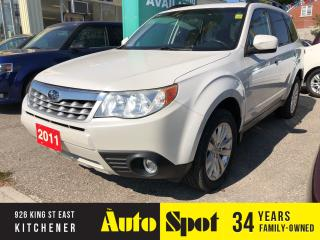 Used 2011 Subaru Forester X Limited/PRICED FOR A QUICK SALE ! for sale in Kitchener, ON