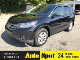 Used 2013 Honda CR-V Touring/TOP OF THE LINE CRV/PRICED - QUICK SALE! for sale in Kitchener, ON