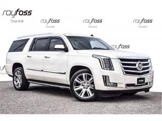 Used 2015 Cadillac Escalade ESV Luxury Nav 8 Pass Tow Pkg Roof for sale in Thornhill, ON