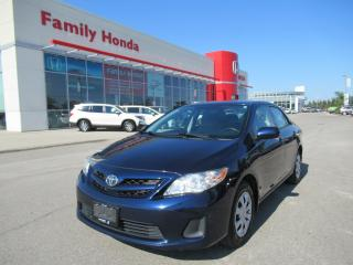 Used 2012 Toyota Corolla CE (A4) for sale in Brampton, ON