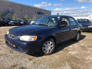 Used 2002 Toyota Corolla CE, BEST VALUE!! for sale in Brampton, ON