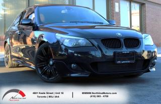Used 2008 BMW 5 Series 550i|M Package|Adaptive Cruise|Navigation|Sunroof for sale in Toronto, ON