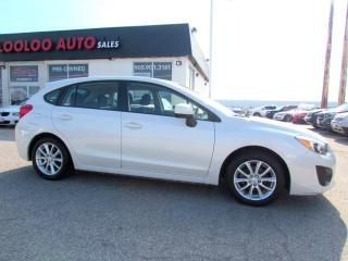 Used 2014 Subaru Impreza 2.0i PREMIUM HB 5 SPEED MANUAL CERTIFIED WARRANTY for sale in Milton, ON
