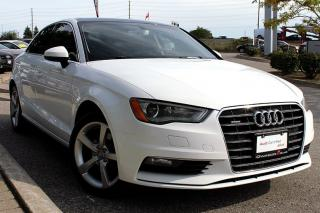 Used 2016 Audi A3 2.0T Komfort + Leather Interior   Heated Seats for sale in Whitby, ON
