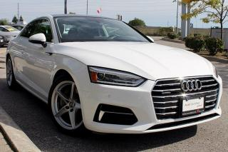 Used 2018 Audi A5 2.0T Komfort + Panoramic Sunroof | Heated Seats for sale in Whitby, ON