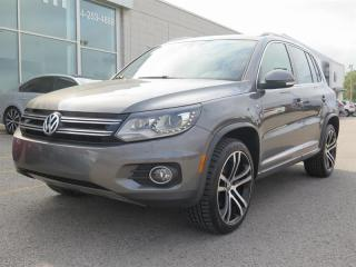 Used 2017 Volkswagen Tiguan Highline R LINE for sale in St-Léonard, QC