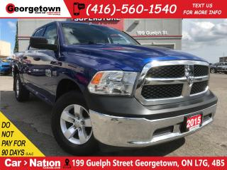 Used 2015 RAM 1500 ST | CREW | 4X4 | 5.7L V8 HEMI | LOW KM for sale in Georgetown, ON