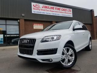 Used 2014 Audi Q7 3.0T TECHNIK NVIGATION B/UP CAMERA PANORAMA ROOFS! for sale in North York, ON
