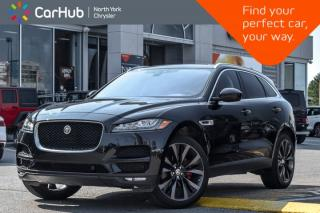 Used 2018 Jaguar F-PACE Portfolio|Nav|Sunroof|Leather|HTD/Vntd Frnt Seats|22