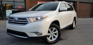 Used 2011 Toyota Highlander LEATHER 7 PASSENGERS 4WD  105K ONLY!!!!! for sale in North York, ON