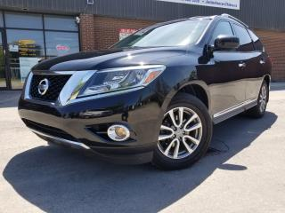 Used 2013 Nissan Pathfinder SL PKG LEATHER BACK UP CAM 7 PASSENGERS!! for sale in North York, ON