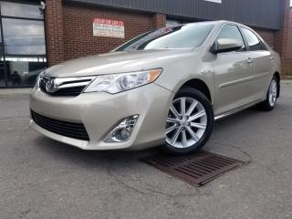 Used 2014 Toyota Camry XLE NAVIGATION B/UP CAMERA LEATHER 82K ONLY!!! for sale in North York, ON