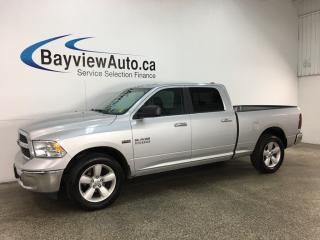 Used 2018 RAM 1500 SLT - ALLOYS! A/C! U-CONNECT! CRUISE! KEYLESS ENTRY! for sale in Belleville, ON