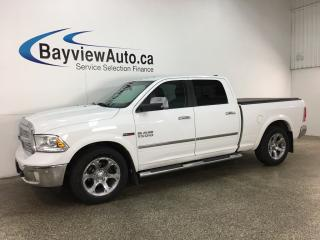Used 2015 RAM 1500 Laramie - CHROMES! AIR SUSPENSION!  HTD/AC LTHR! U-CONNECT! NAV! REVERSE CAM! for sale in Belleville, ON