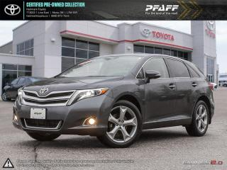 Used 2013 Toyota Venza V6 AWD 6A LTHR, ROOF, NAV, AWD for sale in Orangeville, ON