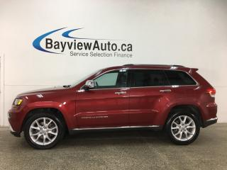 Used 2014 Jeep Grand Cherokee Summit - ECODIESEL! PANOROOF! QUADRA-LIFT! HTD LTHR! NAV! BSD! ADAPTIVE CRUISE! for sale in Belleville, ON