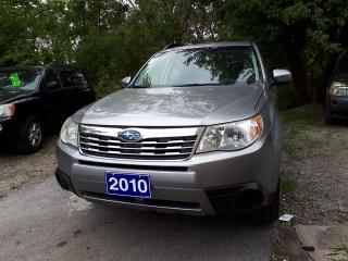 Used 2010 Subaru Forester X sport for sale in Oshawa, ON