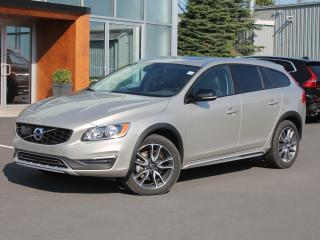 Used 2017 Volvo V60 Cross Country T5 Premier AWD | FULL VOLVO WARRANTY TO 160K for sale in Fredericton, NB