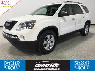 Used 2012 GMC Acadia SLE AWD, 7 PASSENGER, REMOTE START for sale in Calgary, AB