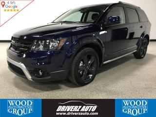 Used 2018 Dodge Journey Crossroad 7 PASSENGER, AWD, REAR ENTERTAINMENT SYSTEM for sale in Calgary, AB
