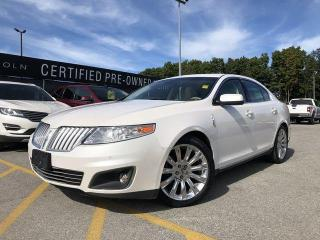 Used 2011 Lincoln MKS HEATED & COOLED SEATS|FOG LIGHTS|MOONROOF for sale in Barrie, ON