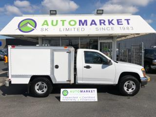 Used 2012 Chevrolet Colorado LT 4X4 CUBE/WORK/TOOL TRUCK for sale in Langley, BC