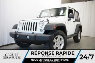 Used 2014 Jeep Wrangler SPORT 4x4 +A/C+AUTOMATIQUE for sale in Laval, QC