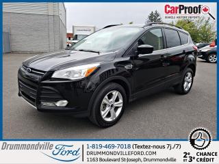 Used 2016 Ford Escape Ford Escape SE Cuir + Toit + GPS (Titani for sale in Drummondville, QC