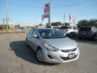 Used 2012 Hyundai Elantra AUTO BLUETOOTH,AUX,4 NEW TIRES ,CD,HEATED FRONT SE for sale in Oakville, ON