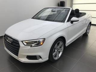 Used 2017 Audi A3 2.0T Komfort for sale in Sherbrooke, QC