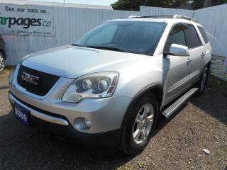 Used 2009 GMC Acadia CLEAN CARPROOF - NEW TIRES - Certified w/ Warranty for sale in Brantford, ON