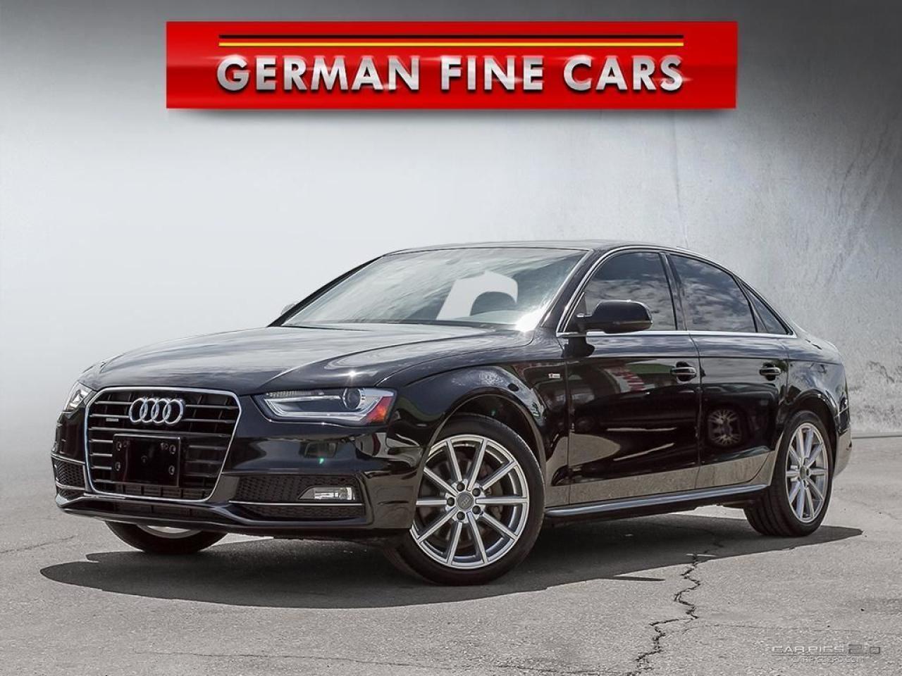 2015 Audi A4 2.0T SLINE QUATTRO*PROGRESSIVE PLUS, NAVIGATION*