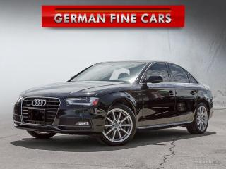 Used 2015 Audi A4 2.0T SLINE QUATTRO*PROGRESSIVE PLUS, NAVIGATION* for sale in Bolton, ON