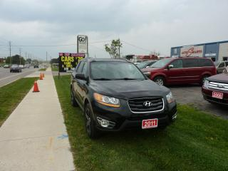 Used 2011 Hyundai Santa Fe Limited w/Navi,and Remote Starter for sale in Kitchener, ON