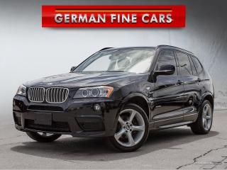 Used 2014 BMW X3 xDrive35i MSPT**NAVIGATION, BACK UP CAMERA** for sale in Bolton, ON