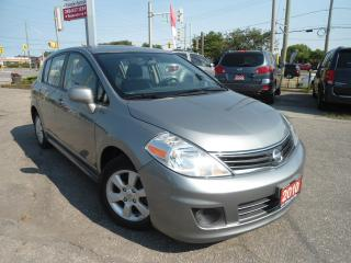 Used 2010 Nissan Versa AUTO HATCHBACK,SUNROOF,AUX,CD,IPOD,WHEEL CONTROLER for sale in Oakville, ON