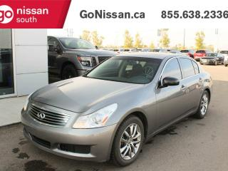 Used 2007 Infiniti G35 Sedan G35x, AWD, TWO SETS OF TIRES! for sale in Edmonton, AB