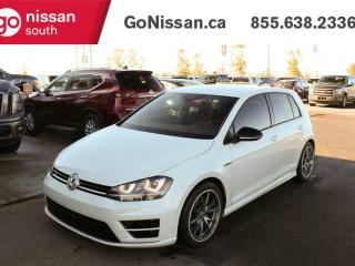 Used 2017 Volkswagen Golf R GOLF R: 4 MOTION, NAVIGATION, LEATHER, BACKUP CAMERA, HEATED SEATS for sale in Edmonton, AB