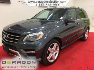 Used 2014 Mercedes-Benz ML-Class Ml350 + Bluetec for sale in Cowansville, QC