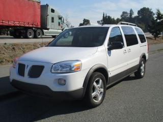 Used 2008 Pontiac Montana w/1SC for sale in Surrey, BC
