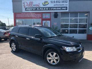 Used 2012 Dodge Journey R/T, LEATHER, AWD, REMOTE START for sale in London, ON