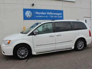 Used 2011 Chrysler Town & Country LIMITED - NAV / HEATED LEATHER / SUNROOF for sale in Edmonton, AB