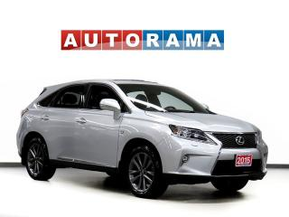 Used 2015 Lexus RX 350 F SPORT PKG NAVI BACKUP CAM  LEATHER SUNROOF 4WD for sale in Toronto, ON