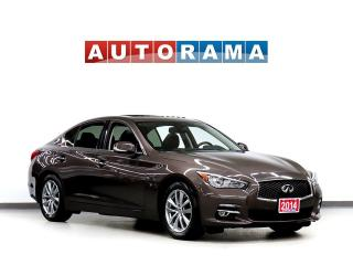 Used 2014 Infiniti Q50 NAVIGATION LEATHER SUNROOF 4WD BACKUP CAMERA for sale in Toronto, ON