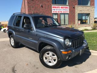 Used 2002 Jeep Liberty LIMITED for sale in Rexdale, ON